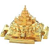 Jewels By Samaya Gold Plated Maha Meru Shree Yantra