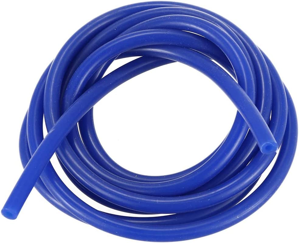 Monland ID 3mm Silicone Pressure Pipe Tube Length 2M Blue with Car Fuel Tank Oil Level Sensor