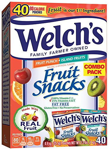 The Chew Halloween Punch (Welch's Fruit Punch and Island Snacks, 40 Count (Pack of)