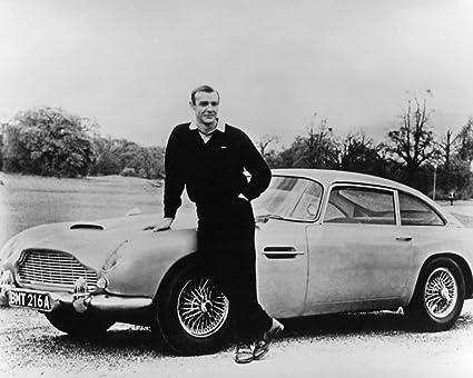 Amazon Com Sean Connery 1960s Aston Martin Db5 James Bond 8x10