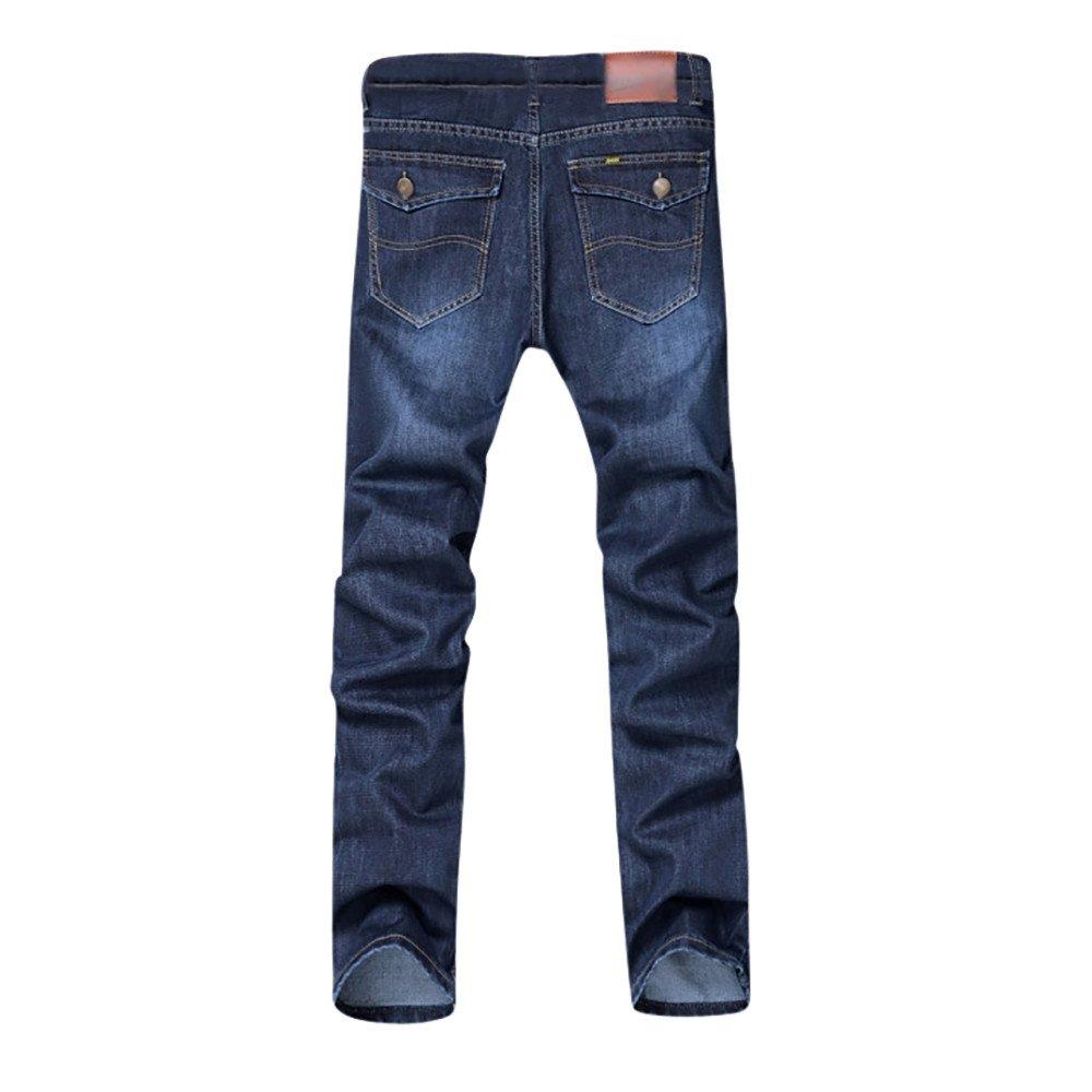 Ximandi Mens Casual Slim Fit Work Trousers Jeans Pants