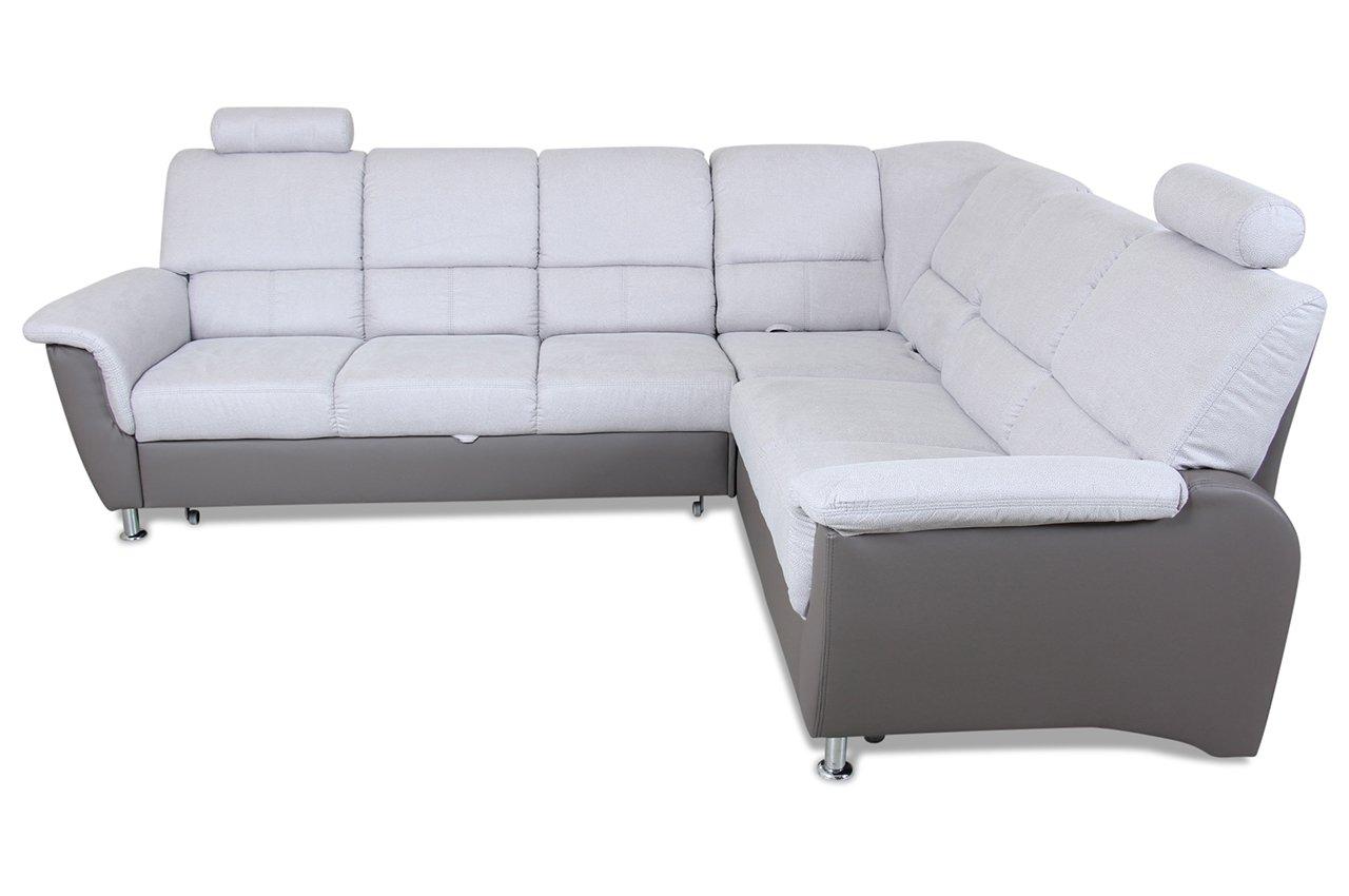 Malerisch 2er Sofa Günstig Foto Von City Rundecke 3er-ecke-2er Pisa - Kunstleder /