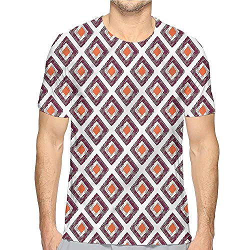 Comfort Colors t Shirt Geometric,Triangles Squares t Shirt S ()