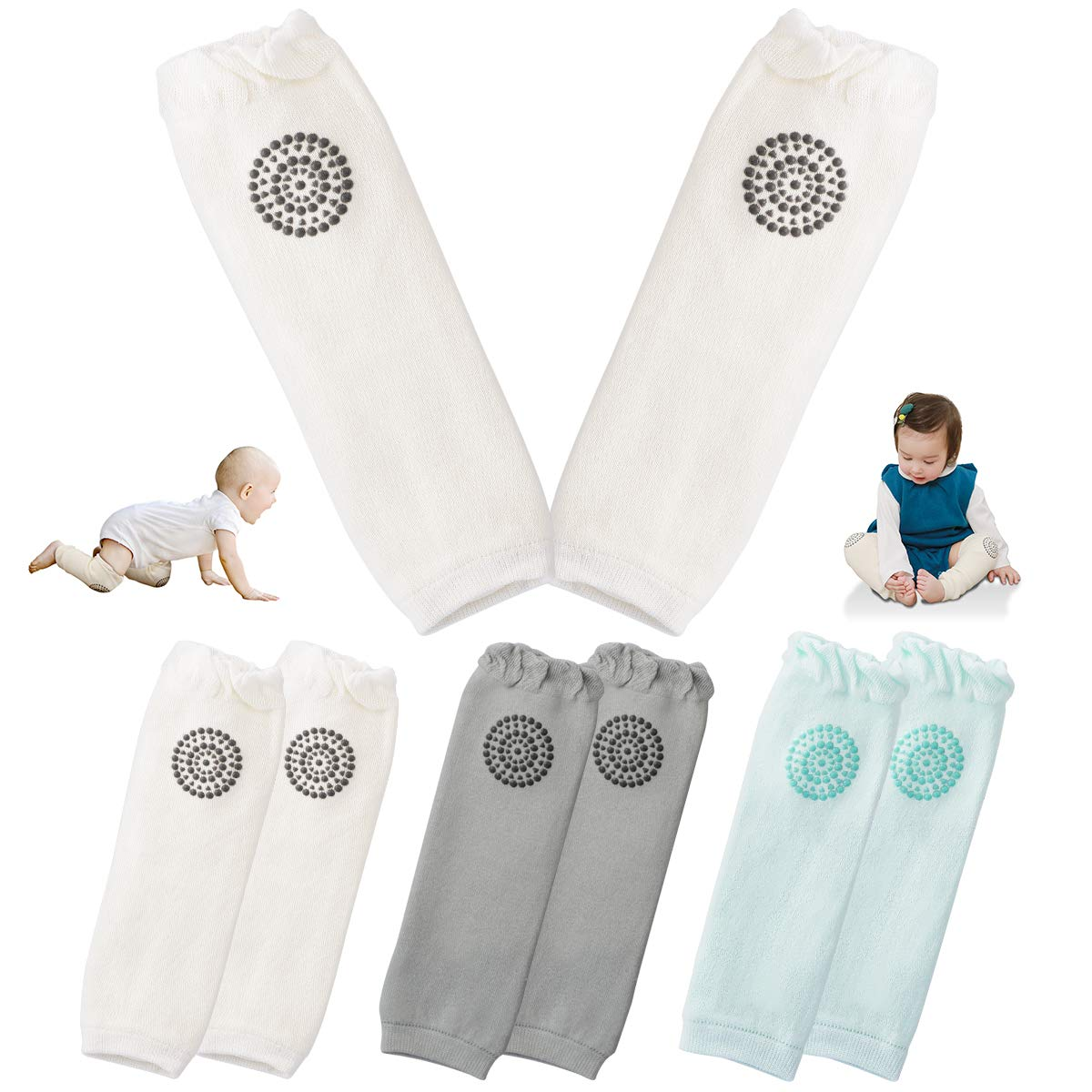 USA SELLER BABY LEG WARMERS 1 Size Fits All Girls Set of 4 pair