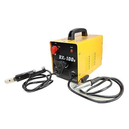 hiltex 10910 máquina de soldadura de arco eléctrico, 100 Amp 110/220 V voltaje
