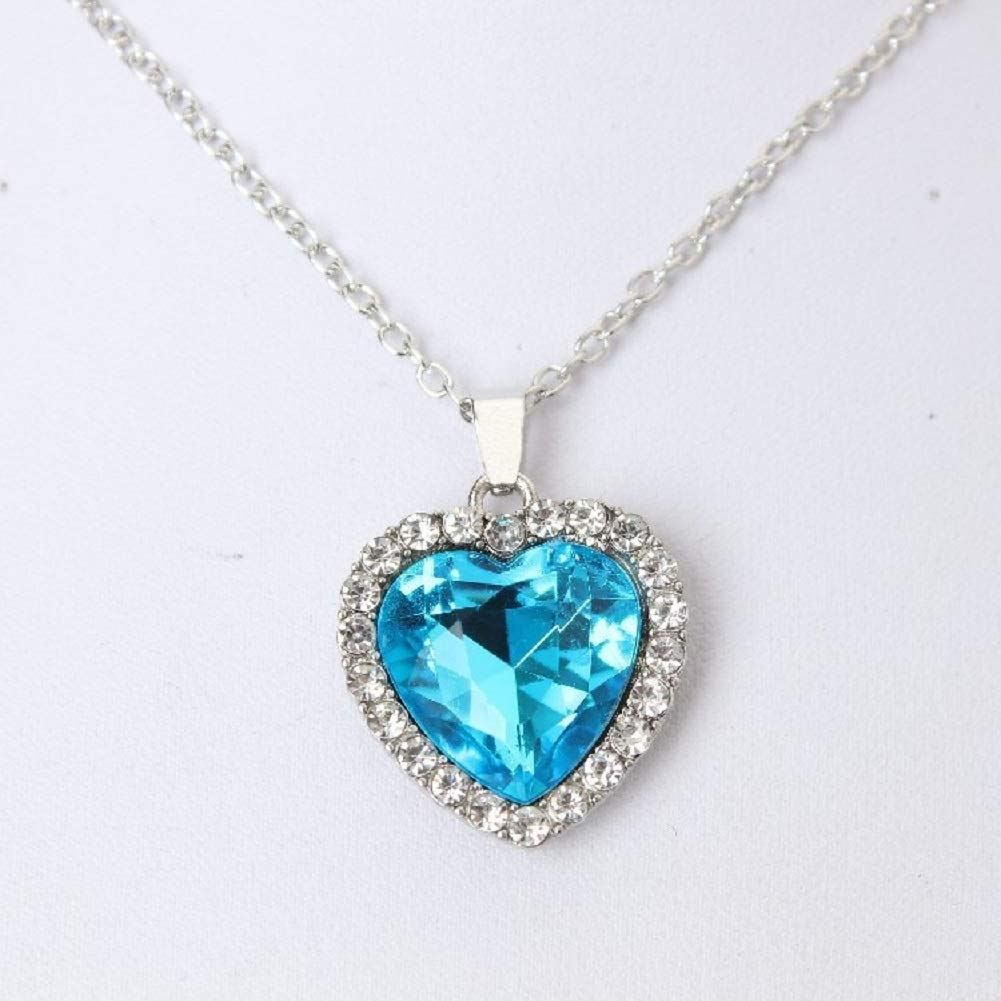 JDX Wholeheartedly Crystal Women Love Necklace Wholesale Sales Statement Necklace Pendant Punk