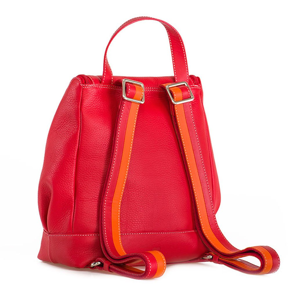 Mywalit Leather Zipped Backpack Seoul Collection 2027 (Red)  Amazon.co.uk   Shoes   Bags 739b71e4fd8f4