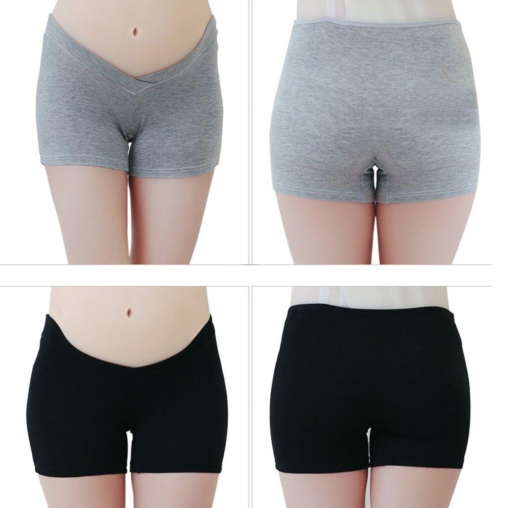 MagiDeal 2 Piezas Bragas de Maternidad de Mujeres Debajo Pantalones de Mujeres Embarazadas Ropa Interior de Premam/á 5 Estilos
