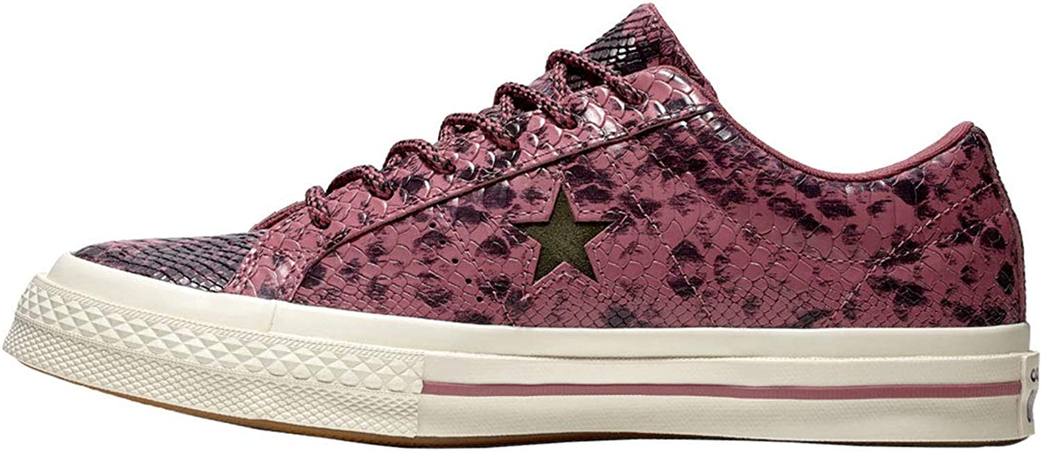 Converse Men's Low-Top Sneakers, Multicolour Multicolour Vintage Wine Black Egret 507