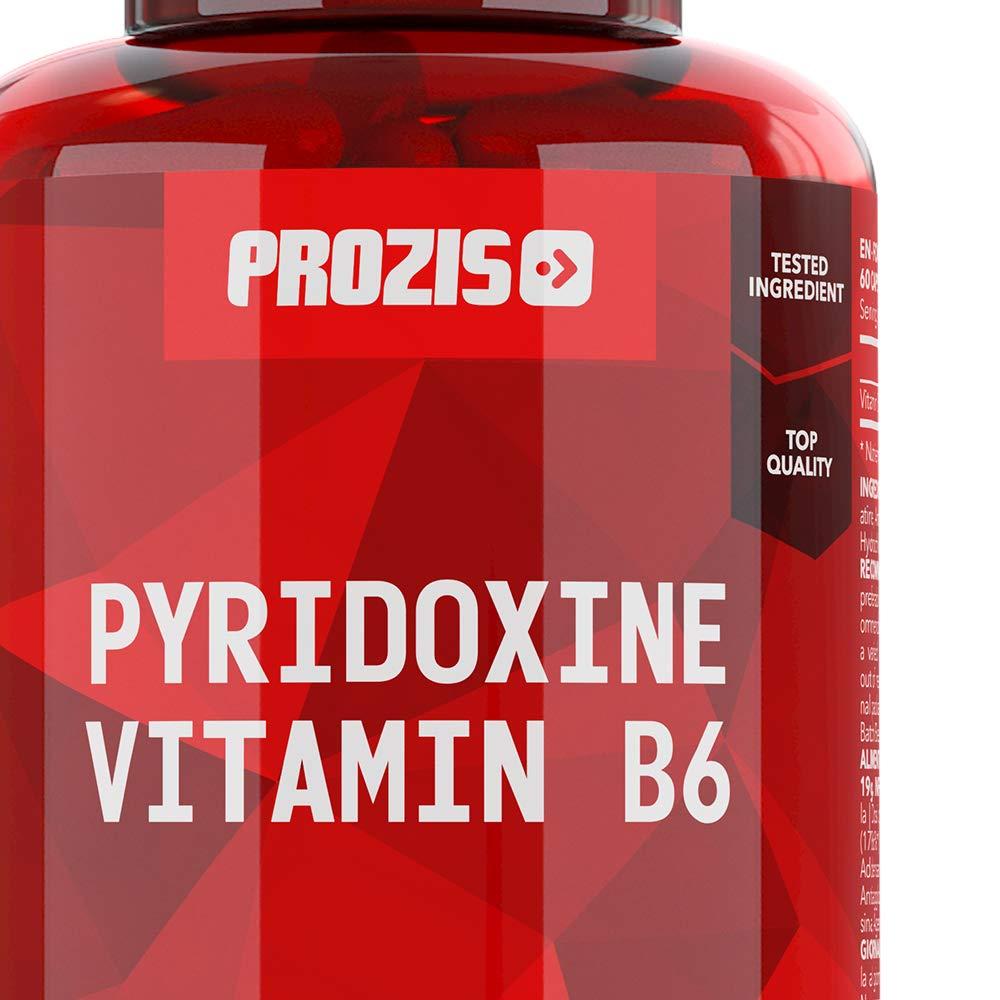 Prozis Pyridoxine Vitamin B6-60 Cápsulas: Amazon.es: Salud y ...