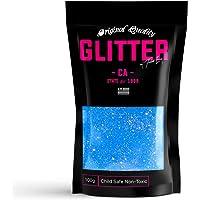 TWISTED ENVY Blue Neon Ultra Fine Premium Glitter 100g / 3.5oz Multi Purpose Craft Paper Glass Decorations DIY Project