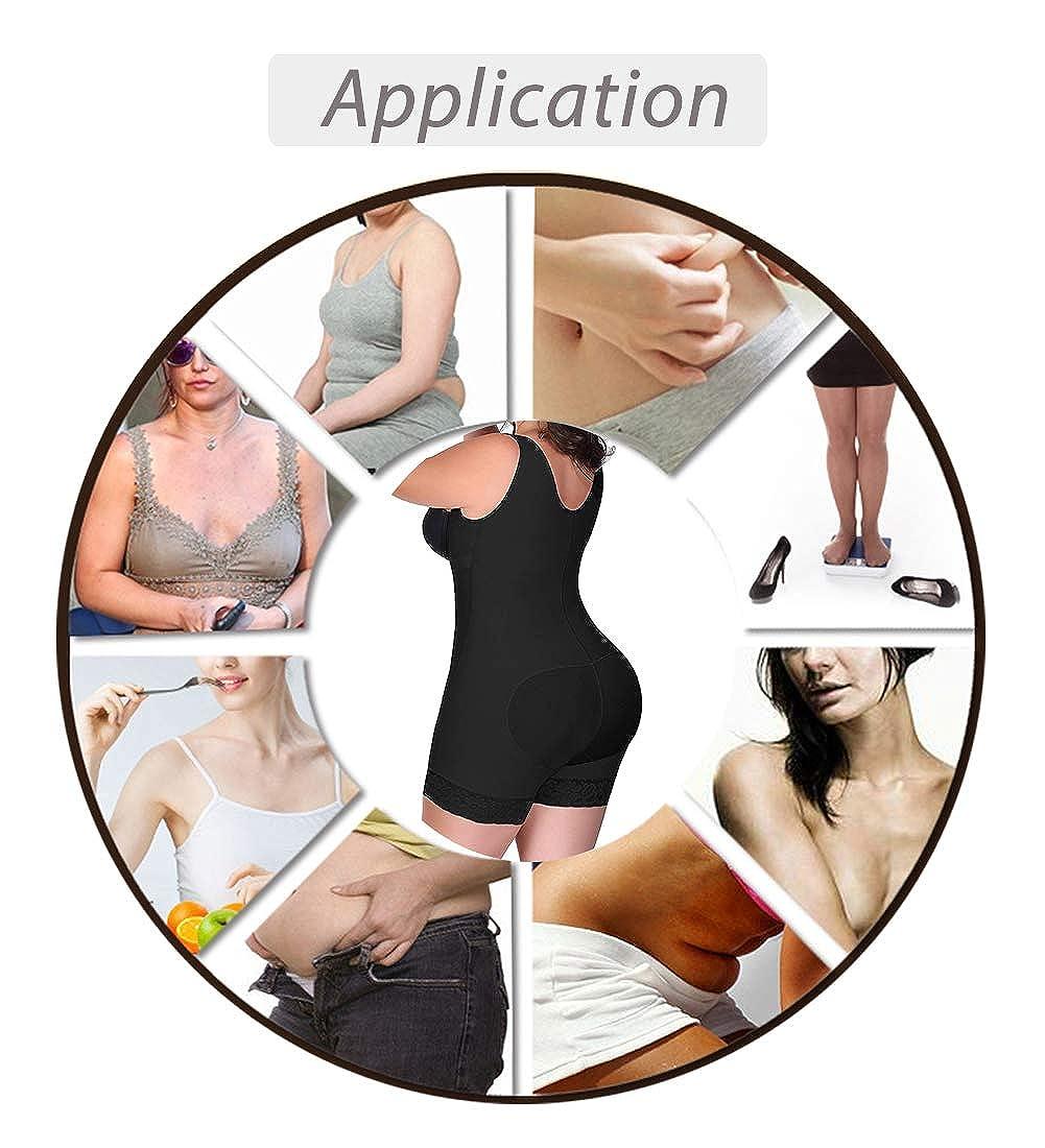 a4b80020054 RIBIKA Bodysuit Plus Size Shapewear Women Body Shaper Waist Shapers Corsets