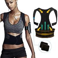 Tencoz Haltungskorrektur Geradehalter, Haltungskorrektur für Eine Bessere Körperhaltung und Unterstützung des Rückens für Damen und Herren