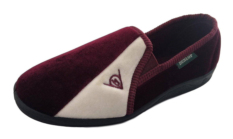 Dunlop - Zapatillas de estar por casa de sintético para hombre negro negro: Amazon.es: Zapatos y complementos