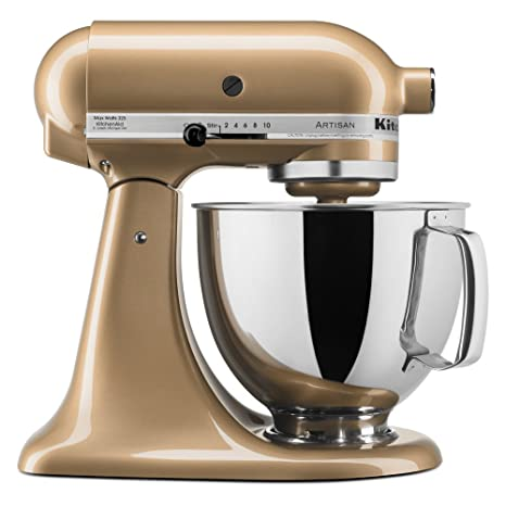 Pleasant Kitchenaid Ksm150Ps 5 Qt Artisan Series With Pouring Shield Home Remodeling Inspirations Propsscottssportslandcom