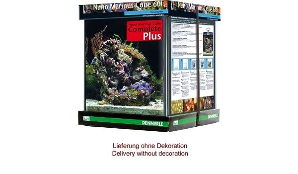 Dennerle Acuario marino Nano Complete Plus, 7004165, forma de cubo, 60 litros: Amazon.es: Productos para mascotas