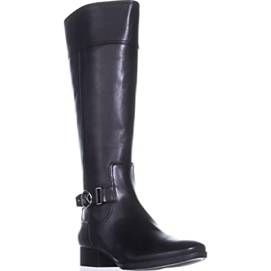 a33c9baeaccc Michael Michael Kors Womens Harland Boot Leather Almond Toe