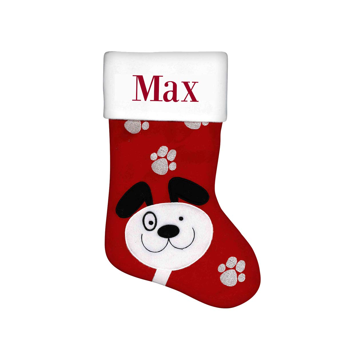 Dinkleboo Personalized Christmas Stockings Festive Holiday Designs Are Great For Kids Adults And Pets Too 15 3 4 X 7 7 8 Cat