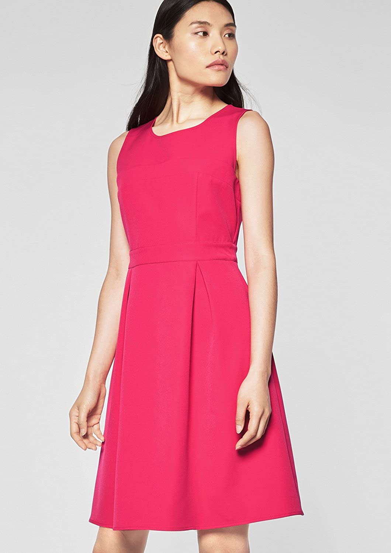 s.Oliver BLACK LABEL Damen Kleid Pink (Illusion Pink 4468)