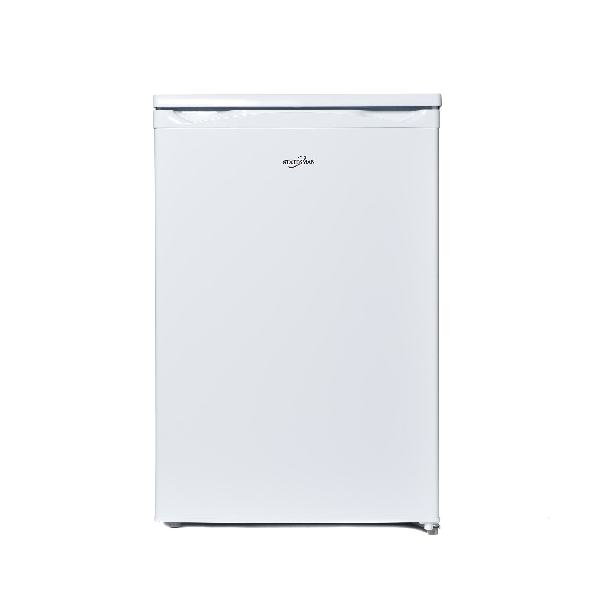 Statesman Freestanding R155W Under Counter Fridge with 4 Ice Box, 55 cm, White [Energy Class A+]