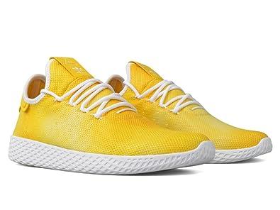 d19b60060 Adidas Mens PW HU HOLI Tennis HU Pharrell Williams Yellow White DA9617  Men s Shoes