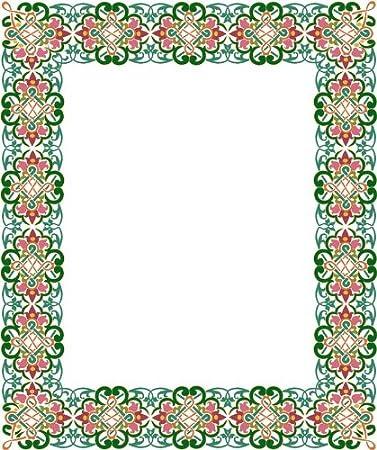 Amazoncom Picture Matting Celtic Flower Design Border Vinyl
