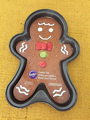 Pan Cookie Gingerbread (Wilton Gingerbread Man / Boy Cookie Pan 2105-0056)