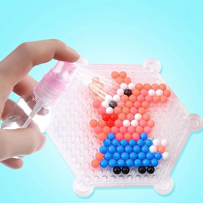 238889a5df17 Aquabeads Abalorios Cuentas de Agua 3600 Perlas 24 Colors Hama Beads para  Niños Niños DIY Artesanía ...
