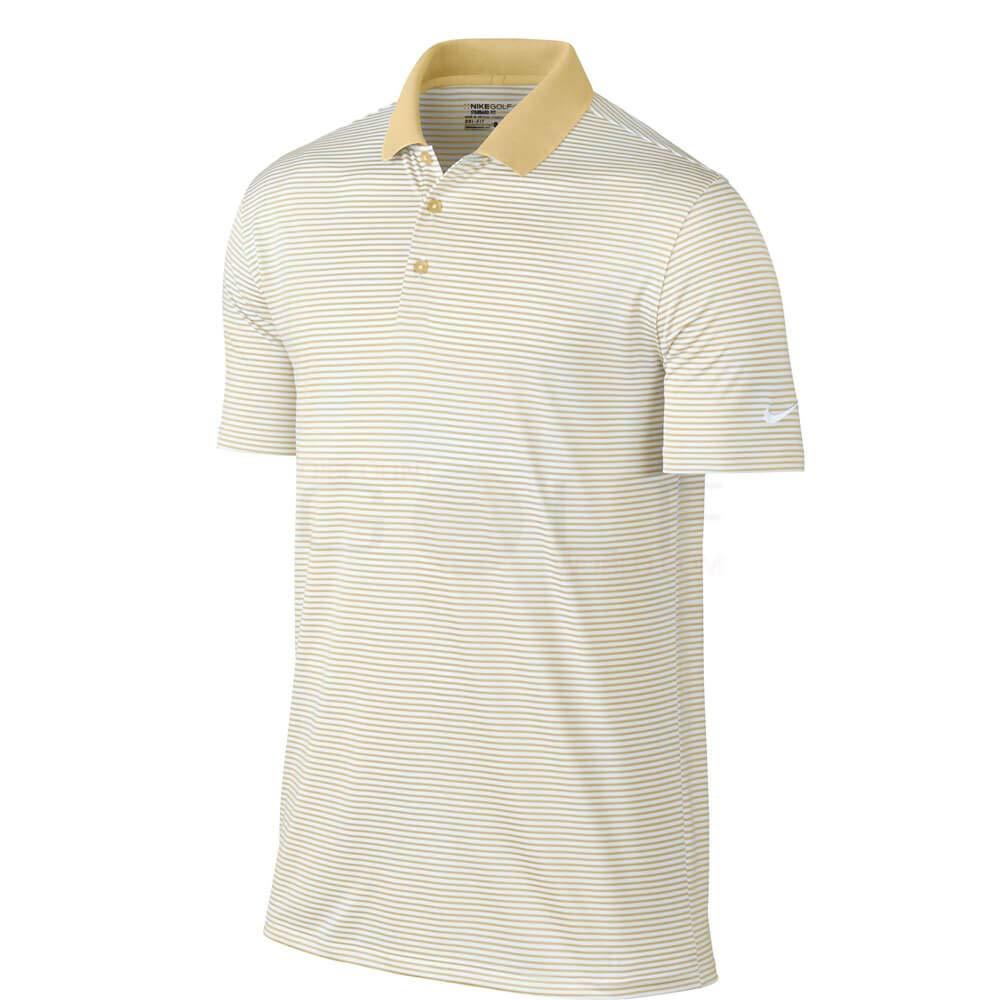 Nike Golf Victoria Polo de Rayas de Mini, XXL, Dorado de Uniforme ...