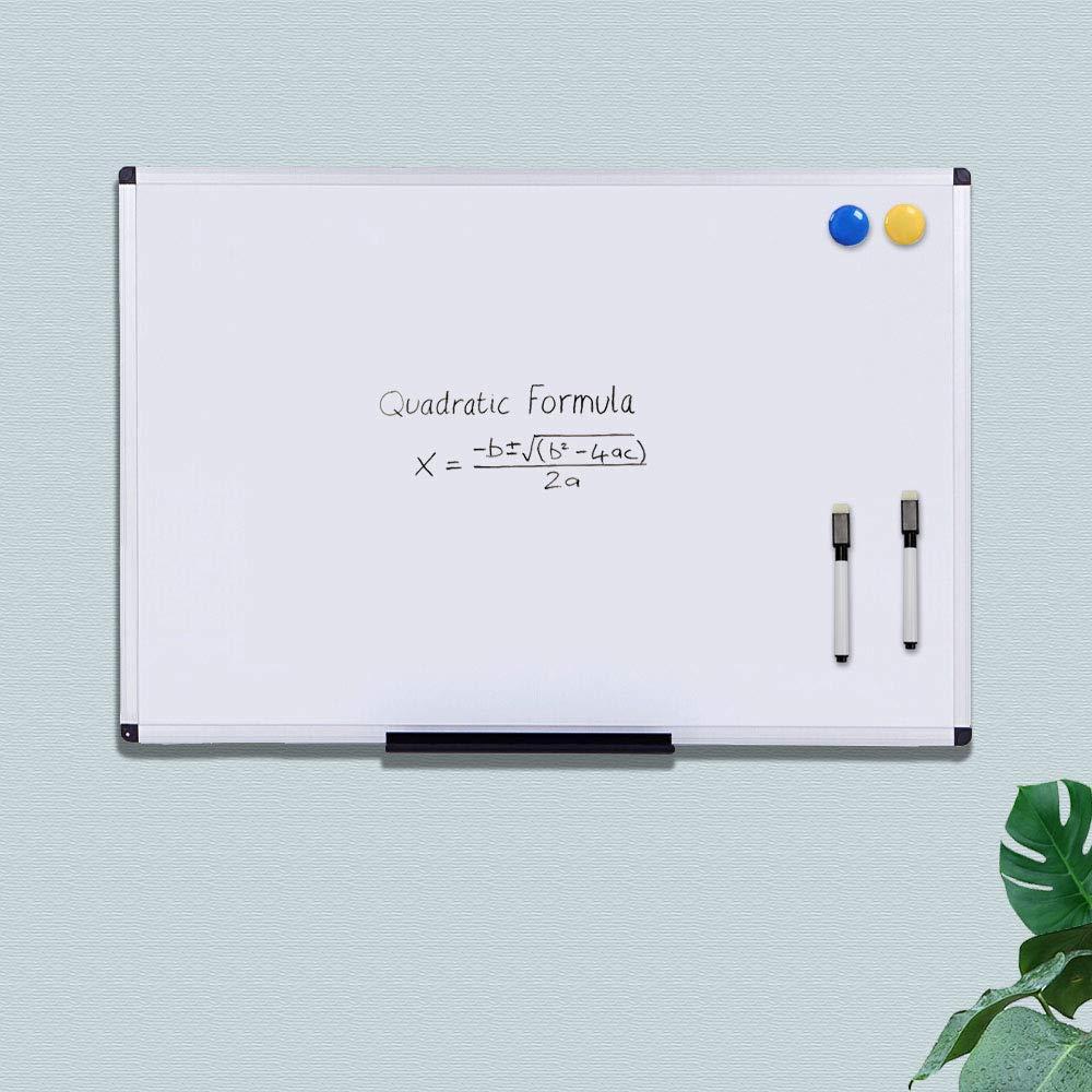 Homgaty 10 Magnet wei/ß Board Marker trocken abwischbar Zeichnen Marker mit Radierer schwarz