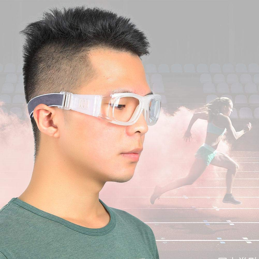 SolUptanisu Outdoor Riding Glasses Sports Basketball Safety Protective Glasses Outdoor Cycling Goggles for Soccer Basketball Tennis