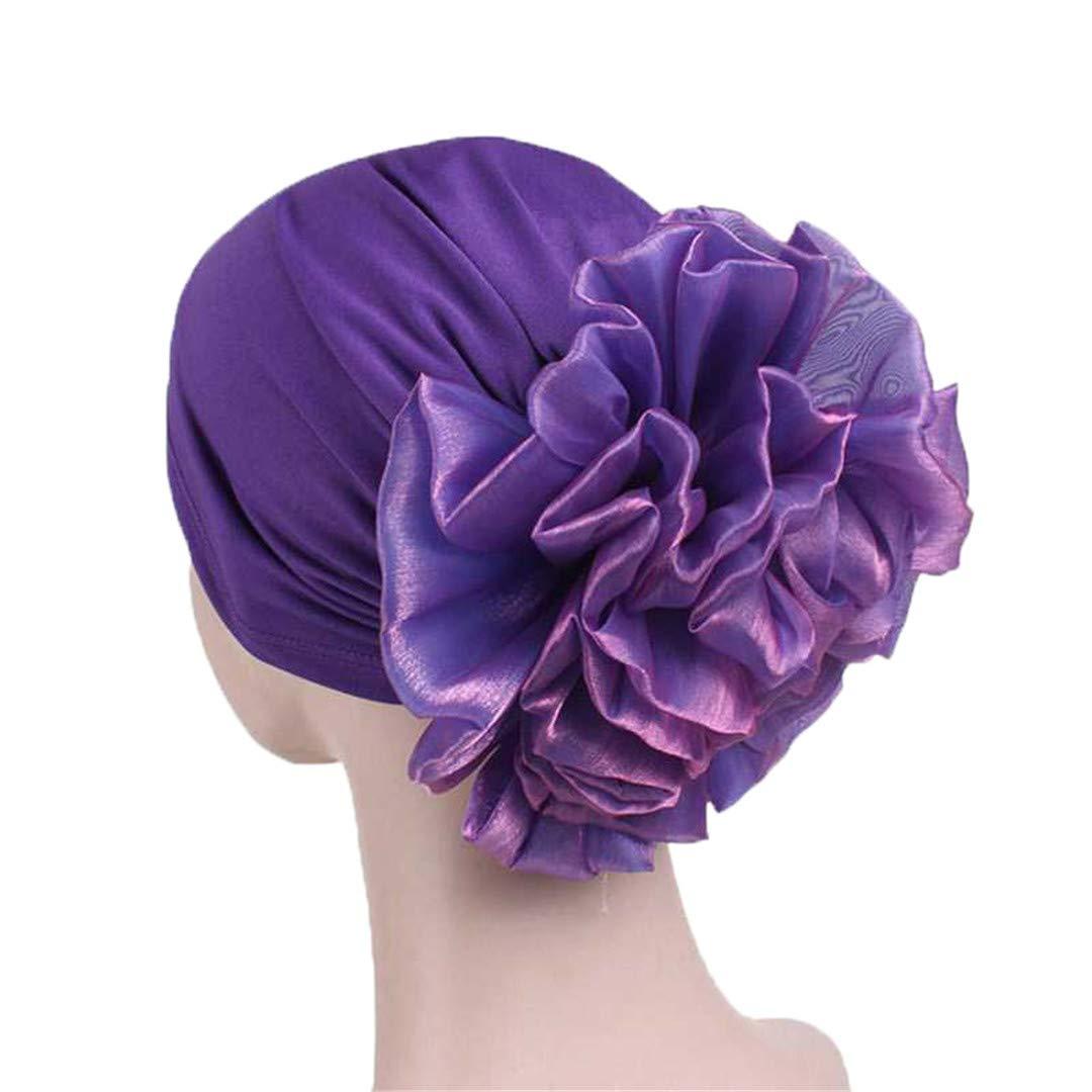 Women'S Floral Lace Hood Cap Indian Hat Muslim Hat