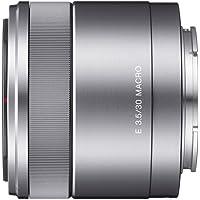 Sony SEL30M35, Objetivo para Sony, Tamaño de Filtro 49 mm, E 30 mm F3.5 Macro, Plata