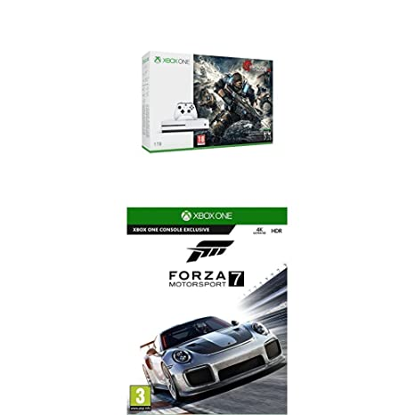 Xbox One -Pack Consola S 1 TB: Pack Gears Of War 4 + Forza