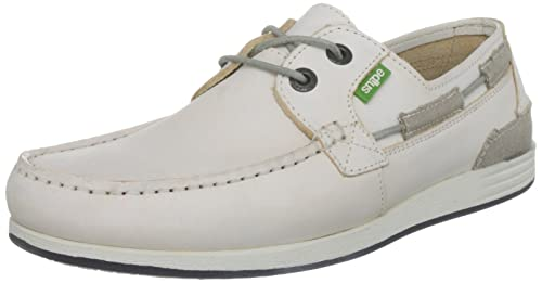mejor servicio b0513 49c42 Snipe Men's Nautico 16 Boat Shoes, White, 9.5 UK: Amazon.co ...