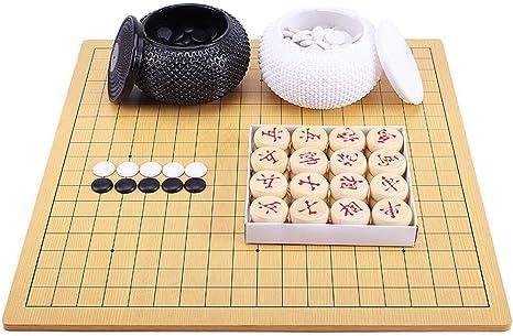Juego de Mesa de Estrategia, Chinese Go/Chinese Chess 2 en 1 ...