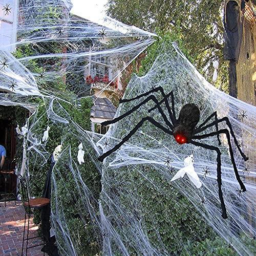Halloween Spider Decorations, 200