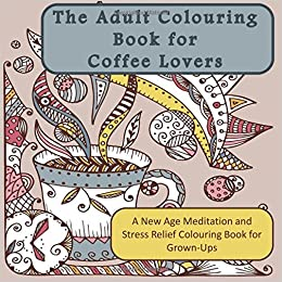 Coffee Word Illustration Adults Coloring Page, Adults Coloring ... | 260x260