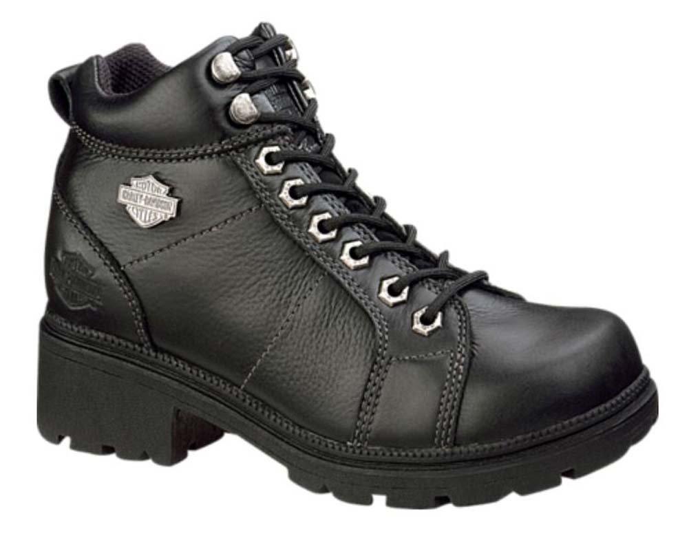 Harley-Davidson Women's Tyler 6'' Boot,Black,8 M
