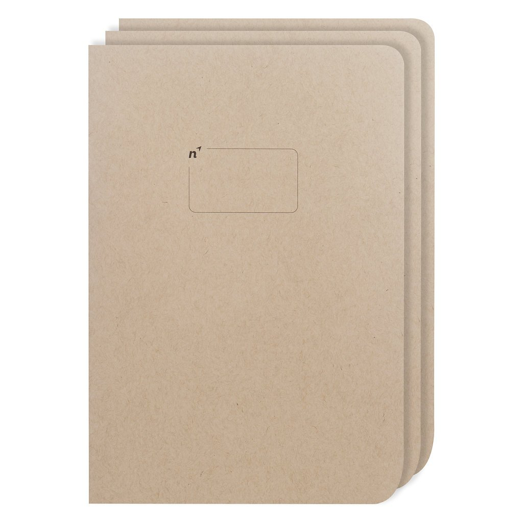 Blank Journal Sketch Books | 3 Unlined Notebooks with Plain Pages | Premium Thick Large 7x10 Paper | Made in USA