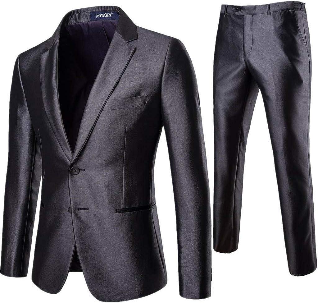 FIRERO Sales results No. 1 Men's Suit Slim Fit One 3-Piece Many popular brands Button Dress Blazer