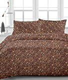 Egyptian Cotton 650 TC Leopard Print King Size Pocket Depth 24 Inch Bed Sheet Set 4PCs