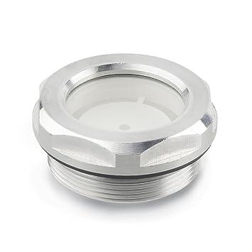 Eloxiert Aluminium 1 St/ück Ganter Normelemente naturfarben GN 333-28-300-A-EL Rohrgriffe