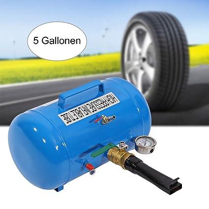 Inflador Blaster Tubo Inflable de Alta Presión 5 Galones Tire Bead Seater Tanque de Aire para