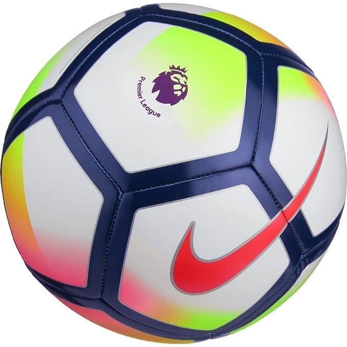 NIKE PITCH PREMIER LEAUGE FOOTBALL BALL 2017/2018 (White/Crimson ...