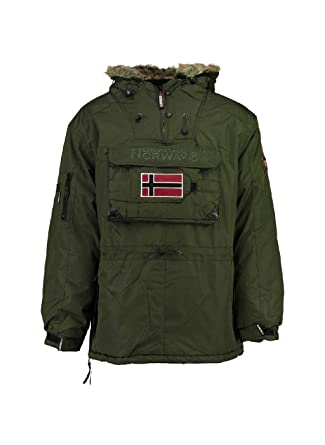 Vêtements Kaki Homme Geographical Norway Beco et Parka XUXwfq