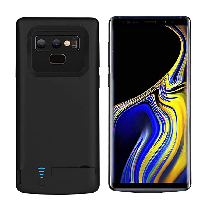 best service 63d6e bdd5f RUNSY Samsung Galaxy Note 9 Battery Case, 5000mAh Rechargeable Extended  Battery Charging Case, External Battery Charger Case, Backup Power Bank  Case ...