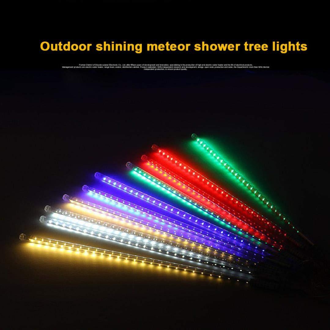 coersd Outdoor String Lights, Party LED Lights Meteor Shower Rain Snowfall Xmas Tree Garden Outdoor (Multicolor) by coersd (Image #4)