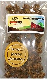 Bulldog Depot Select Farmer's Market Aunt Olive's Italian Meatball Dog Treats- Always Farm Fresh!