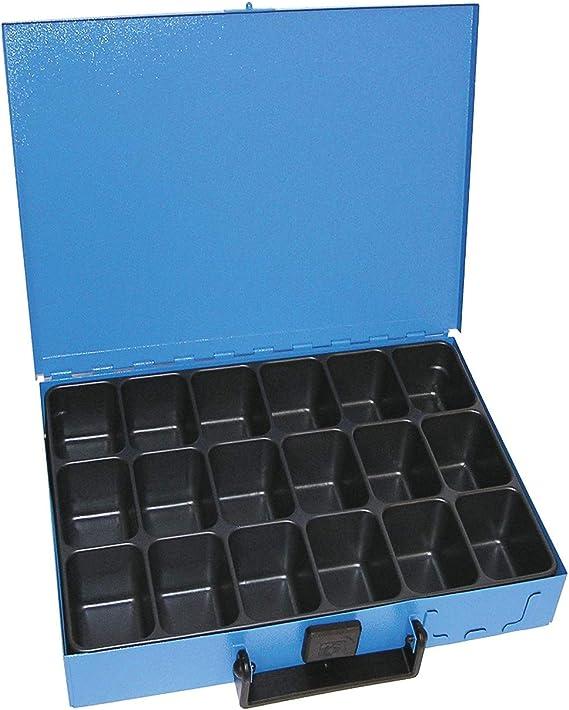 Dresselhaus 8583 - Caja metálica con 18 compartimentos: Amazon.es ...